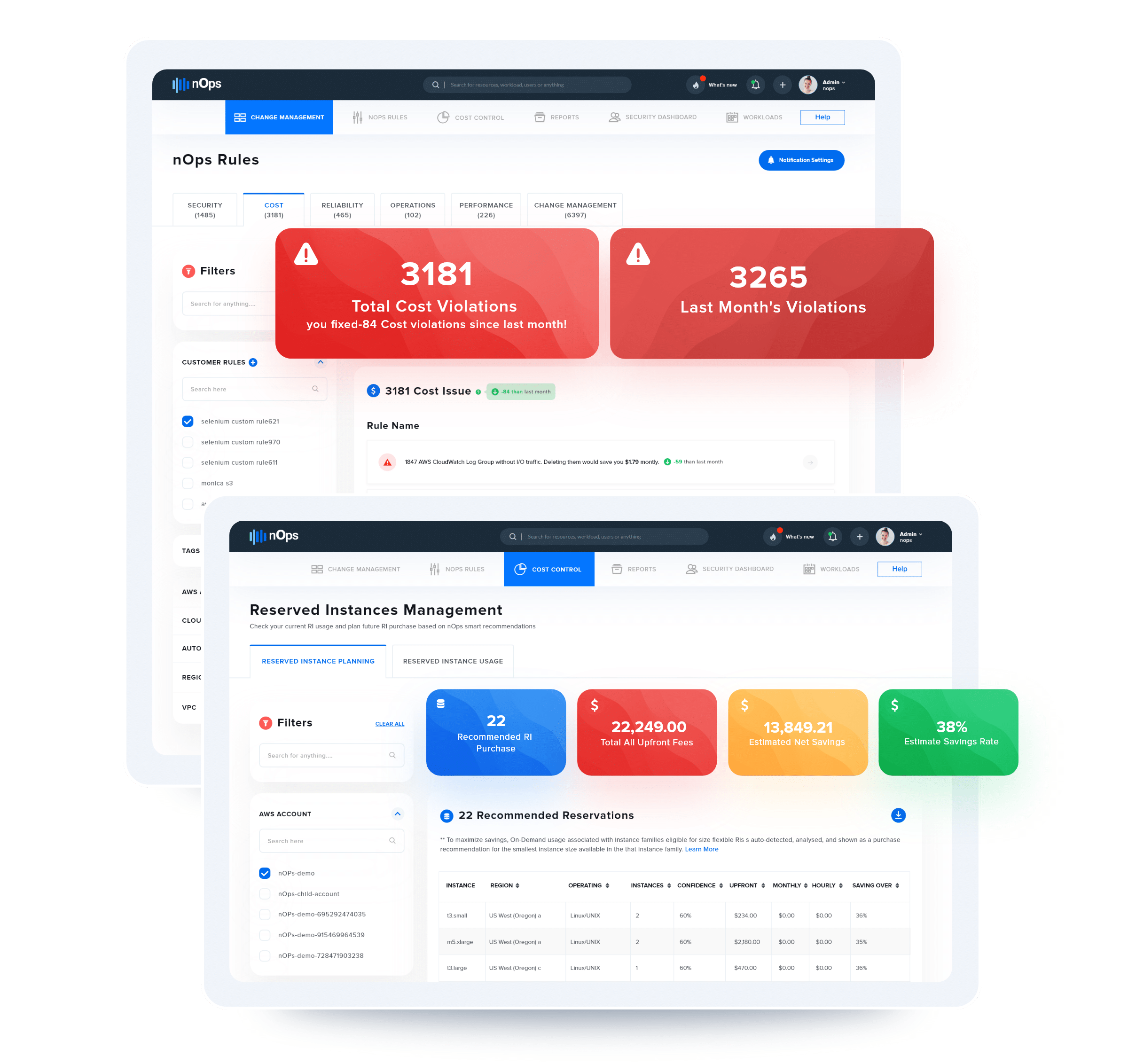 ShareSave Dashboard Maximizing AWS EC2 Reserved Instance Pricing